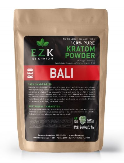 Red Bali (Horn) Kratom Powder