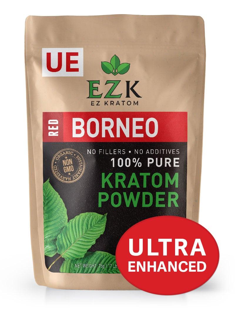ULTRA ENHANCED Red Borneo Kratom Powder