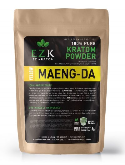Yellow Maeng-Da Kratom Powder