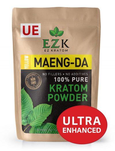 ULTRA ENHANCED Yellow Maeng-Da Kratom Powder