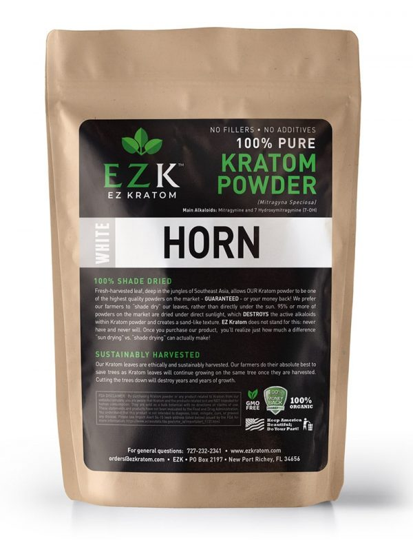 ULTRA ENHANCED White Horn Kratom Powder