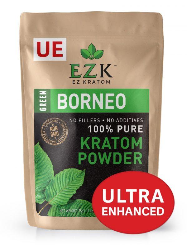 ULTRA ENHANCED Green Borneo Kratom Powder