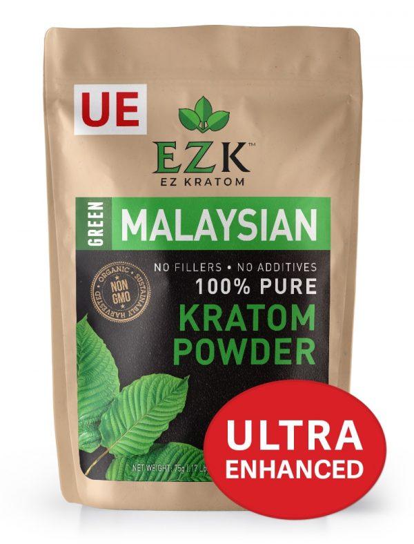ULTRA ENHANCED Green Malaysian Kratom Powder
