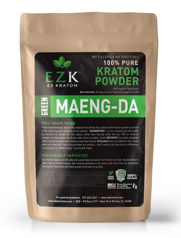 Green Maeng-Da Kratom Powder