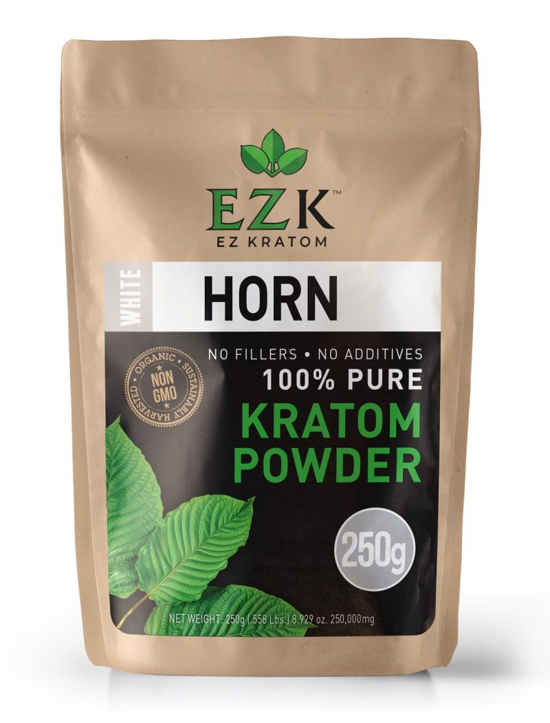 White Horn Kratom Powder