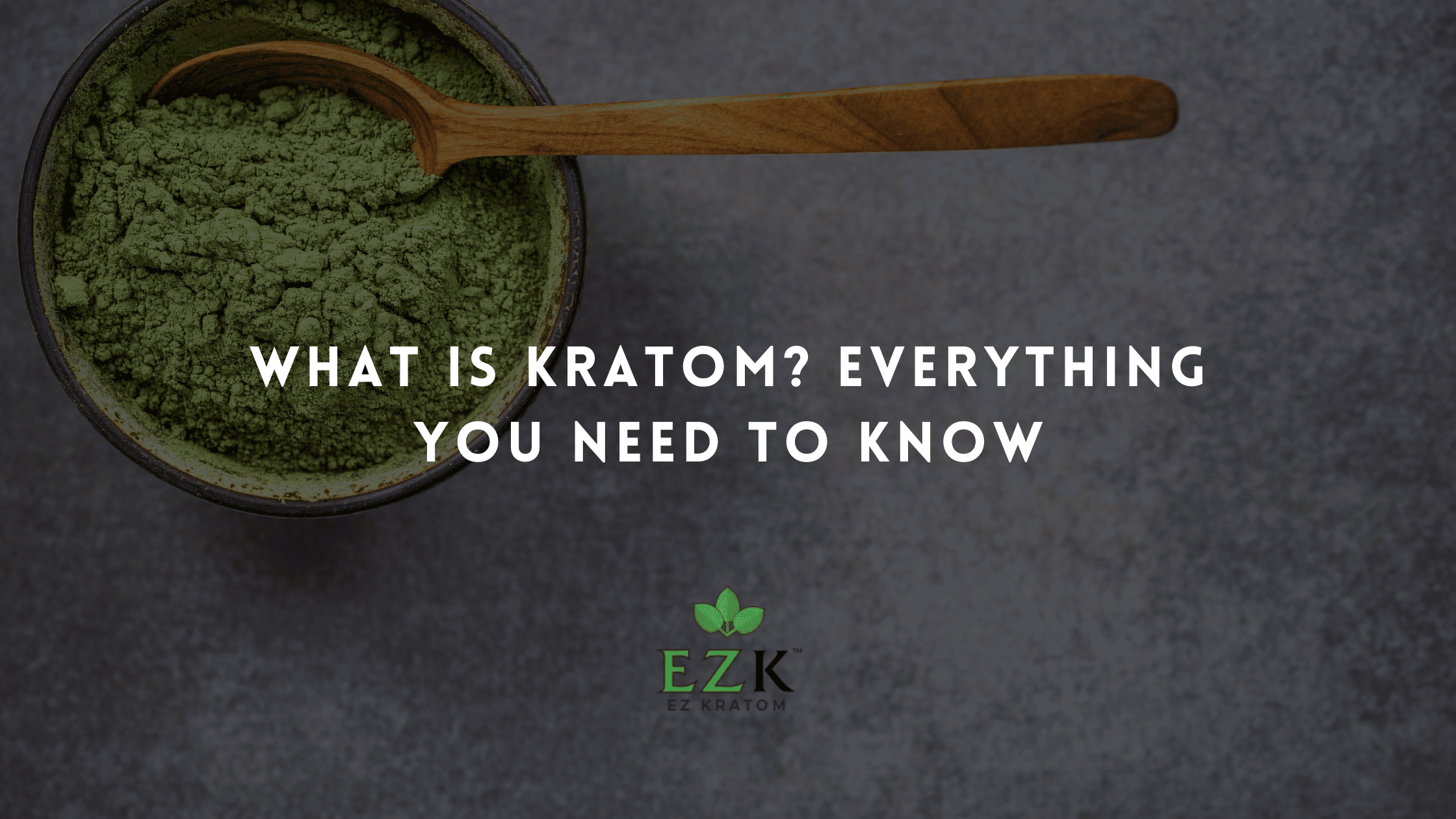 What Is Kratom? Everything You Need to Know | EZ Kratom Wholesale Blog