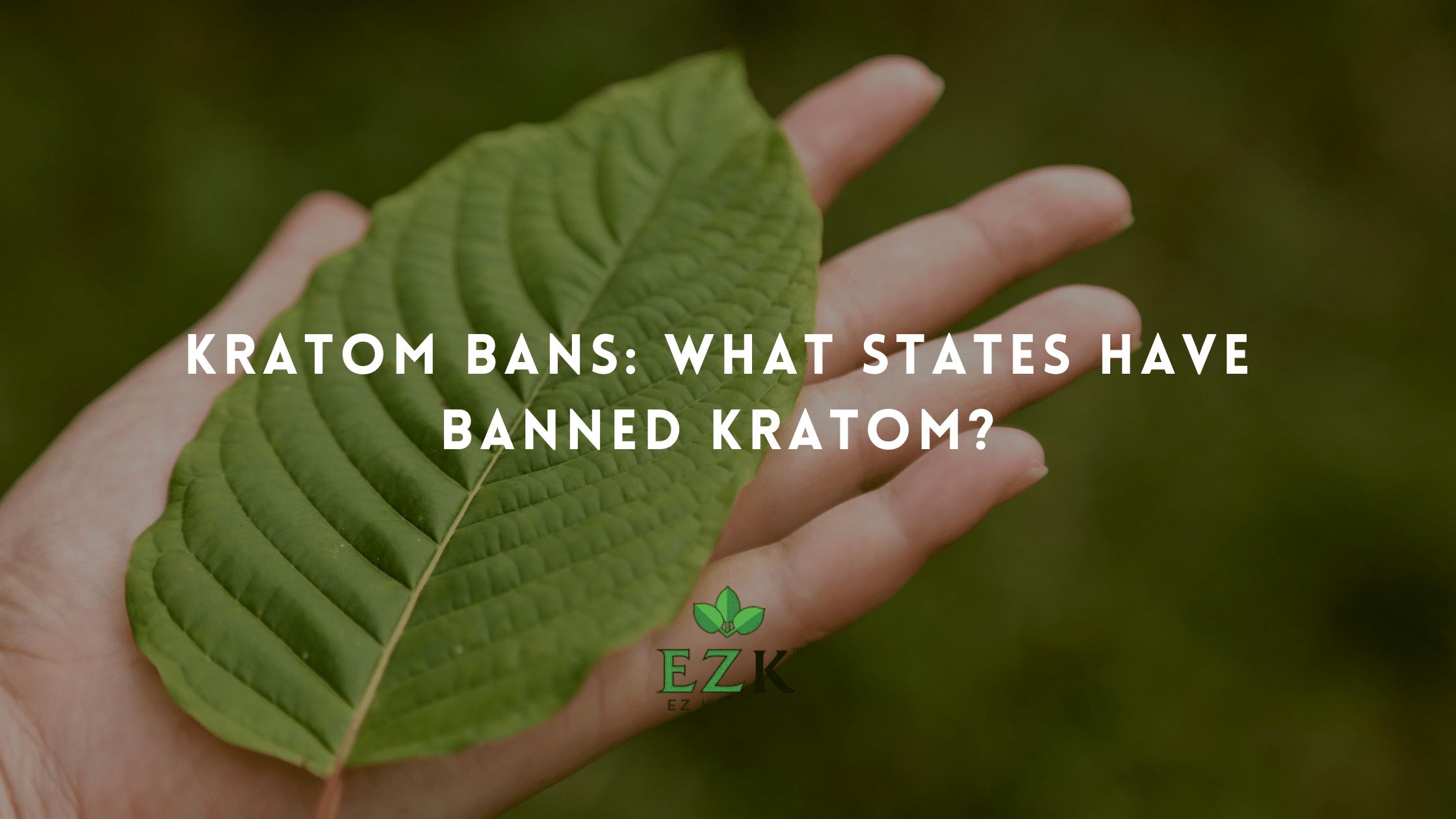 Kratom Bans: What States Have Banned Kratom?