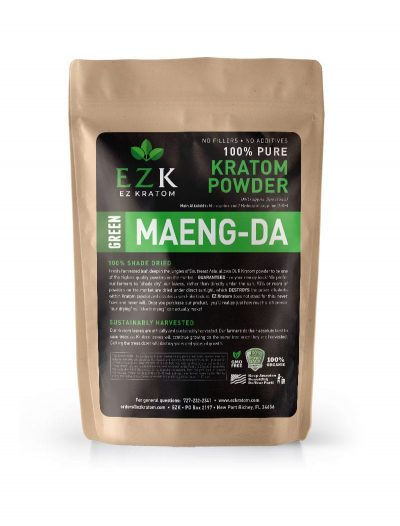 "30g Green Maeng-Da ""Retail Ready"" Kratom Bags (per Case)"