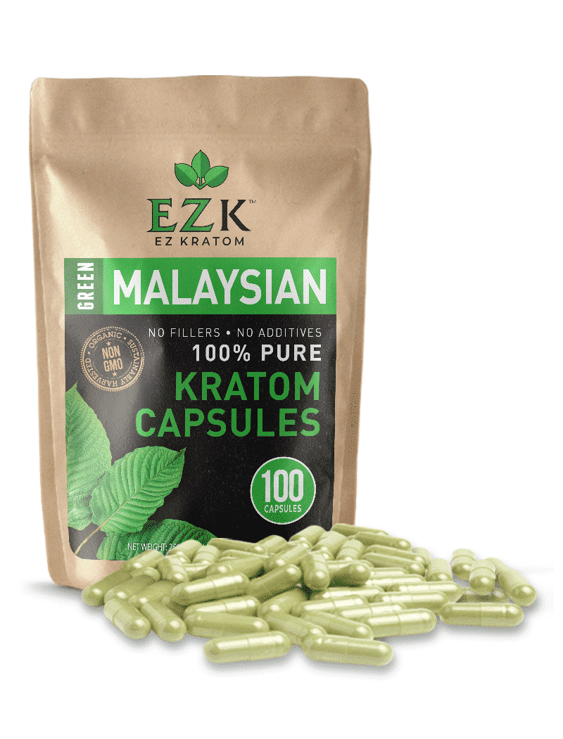 Green Malay Kratom | Malaysian Kratom Powder Capsules Near Me for Sale Online