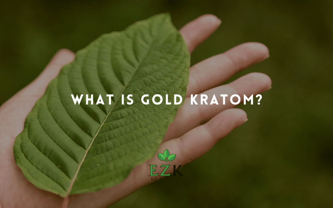 What Is Gold Kratom?