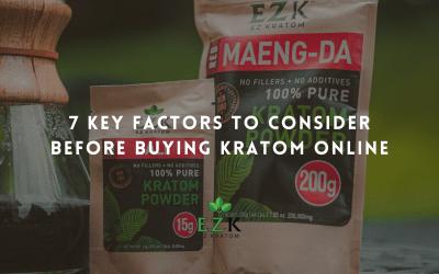 7 Key Factors to Consider Before Buying Kratom Online