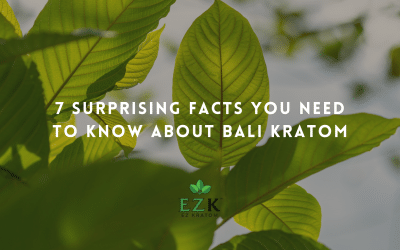7 Surprising Facts You Need to Know About Bali Kratom