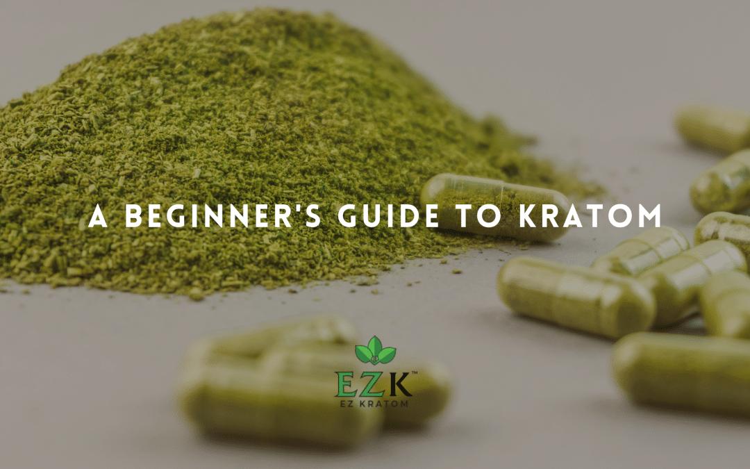 A Beginner's Guide to Kratom